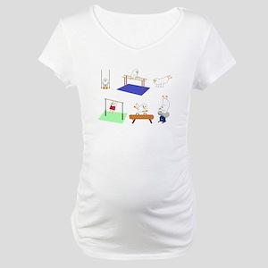 Gymnastics Maternity T-Shirt