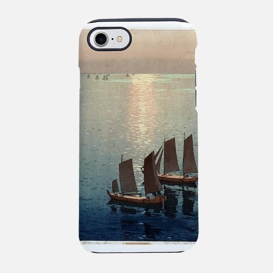 The sparkling sea - Hiroshi Yoshida - 1926 iPhone
