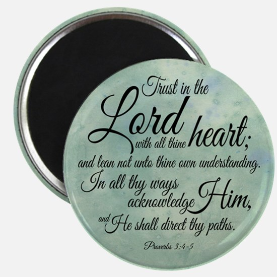 """Trust in the Lord 2.25"""" Magnet (10 pack)"""