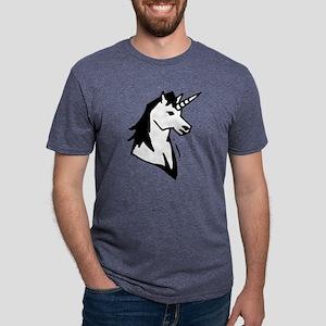 gvUnicorn07 Mens Tri-blend T-Shirt