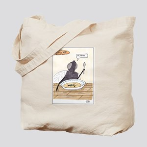 Man in the Soup Tote Bag