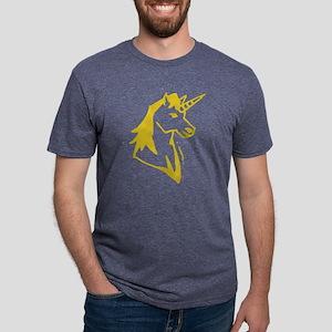 gvUnicorn08 Mens Tri-blend T-Shirt