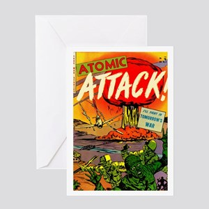 Atomic Attack! #5 Greeting Card