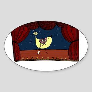 breakaleg Sticker (Oval)