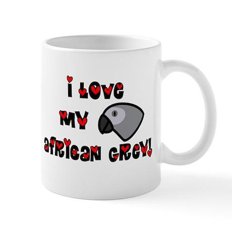 Anime Grey Mug