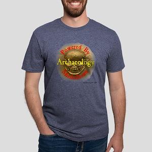 ered by marshalltown - gold Mens Tri-blend T-Shirt