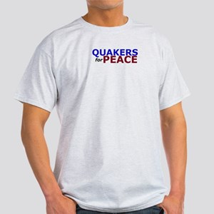Quakers for Peace Light T-Shirt
