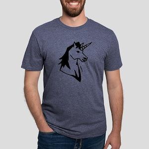 gvUnicorn10 Mens Tri-blend T-Shirt