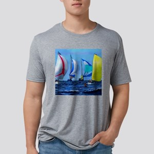 Spinakers Up Mens Tri-blend T-Shirt
