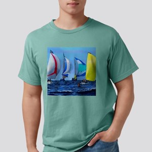 Spinakers Up Mens Comfort Colors Shirt