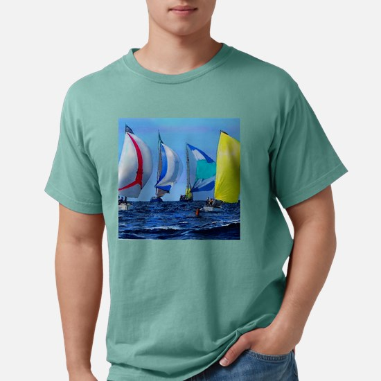 Spinakers Up.png Mens Comfort Colors Shirt