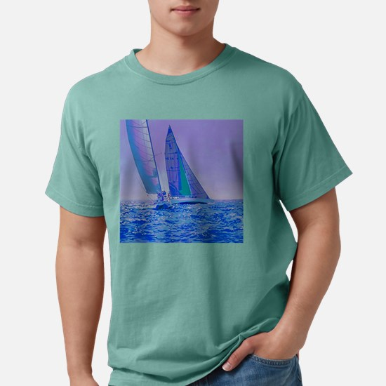 Rounding the Mark.png Mens Comfort Colors Shirt