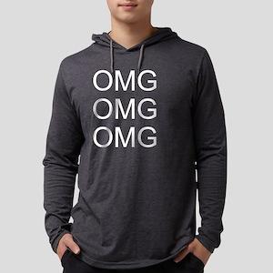 OMG OMG OMG Mens Hooded Shirt