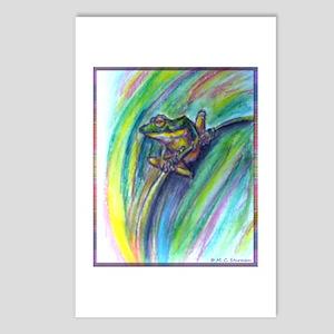 Tree frog! Wildlife art! Postcards (Package of 8)