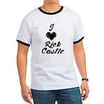 I heart Rick Castle Ringer T