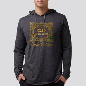 Baker Street Christmas Mens Hooded Shirt