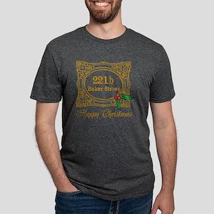 Baker Street Christmas Mens Tri-blend T-Shirt