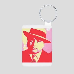 Al Capone Aluminum Photo Keychain