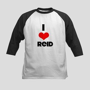 I heart Reid Kids Baseball Jersey