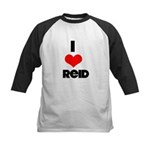 I heart Reid Kids Baseball Jersey