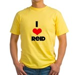 I heart Reid Yellow T-Shirt