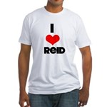 I heart Reid Fitted T-Shirt