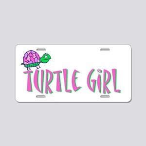 turtlegirl Aluminum License Plate