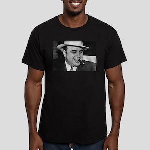 Al Capone Men's Fitted T-Shirt (dark)