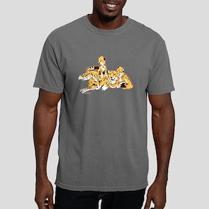 Cheetah Family Mens Comfort Colors Shirt