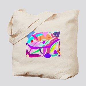 Colored Mist Hope for the Future No History Tote B