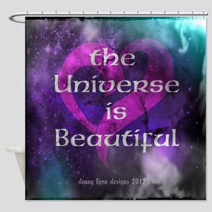 Beautiful Universe Shower Curtain