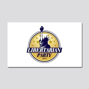 Libertarian Party of America Car Magnet 20 x 12