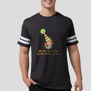 elf_bird_hyvaa_joulua_10x10_tr Mens Football Shirt