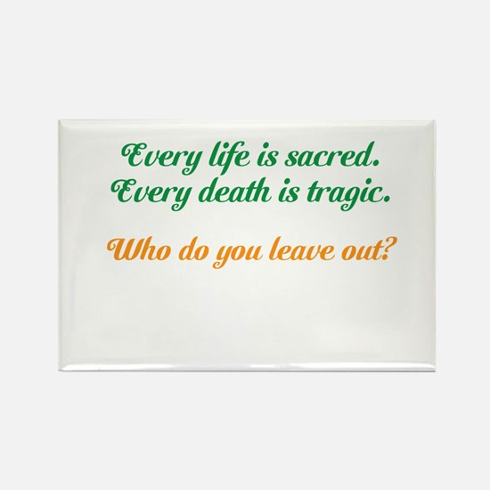 Sacred Life Rectangle Magnet