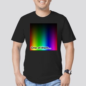One of Them.... Men's Fitted T-Shirt (dark)
