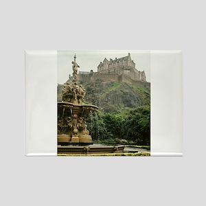 Edinburgh Castle Rectangle Magnet