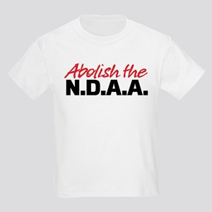 Abolish the NDAA Kids Light T-Shirt