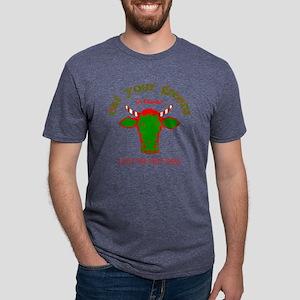 Cow Xmas 002 copy Mens Tri-blend T-Shirt