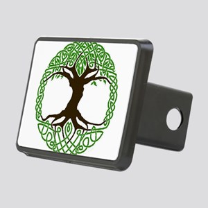 colored tree of life Rectangular Hitch Cover