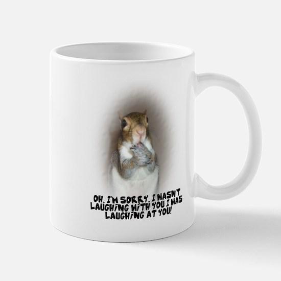 Laughing Squirrel Mug