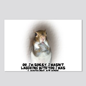 Laughing Squirrel Postcards (Package of 8)