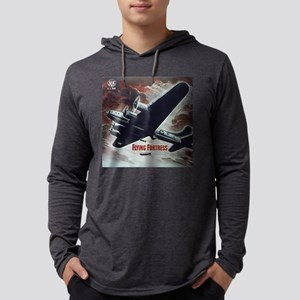 Flying Fortress Mens Hooded Shirt