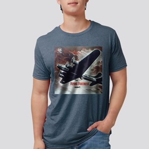 Flying Fortress Mens Tri-blend T-Shirt