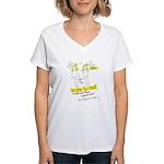 The Power Women's V-Neck T-Shirt