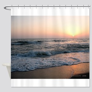.florida sunset I. Shower Curtain