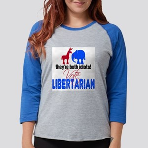 libertarin08 Womens Baseball Tee