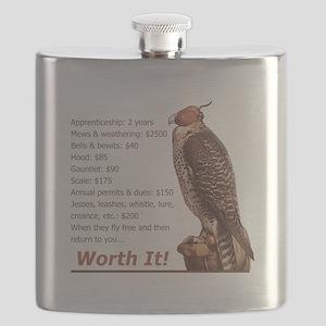 Falconry - Worth It! Flask