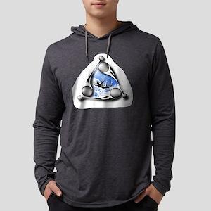 logoCircleBack Mens Hooded Shirt