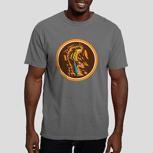 Coal Miner Holding Sledg Mens Comfort Colors Shirt