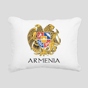 Armenian Coat of Arms Rectangular Canvas Pillow
